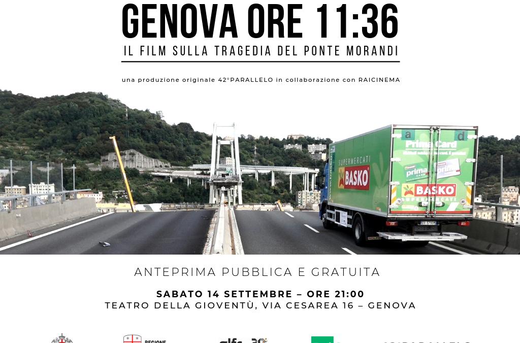 Genova Ore 11.36